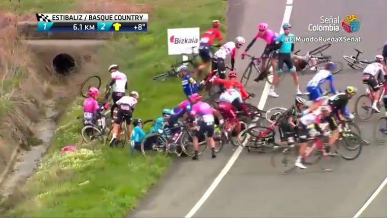 Alaphilippe valt in de Ronde van het Baskenland