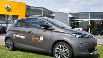 Gemeente stelt deelwagen ter beschikking op parking Tirse in Nederbrakel
