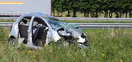 'Hoge snelheid oorzaak fataal ongeluk A73-afrit Haps'