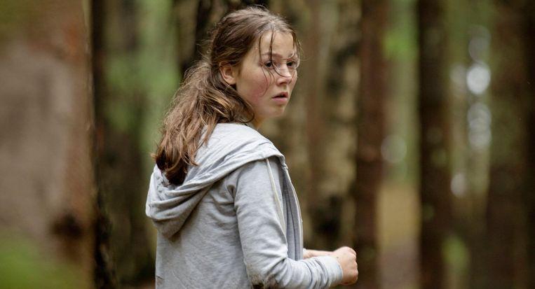 Andrea Berntzen als de 18-jarige Kaja, de hoofdpersoon in U - July 22. Beeld null