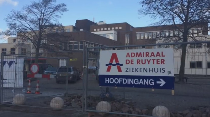 Het ADRZ in Vlissingen wordt verbouwd.