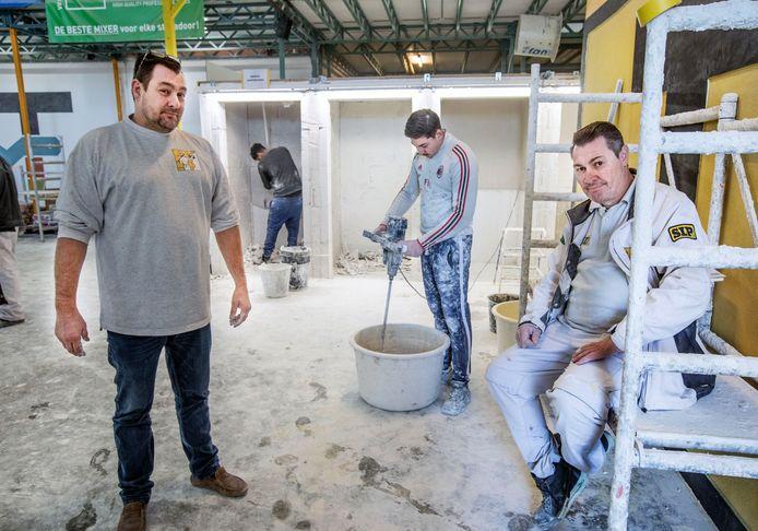 Stukadoors Michel en Peet Traub maakten met Traub Stuc onderdeel uit van de Energie Academie. Ze vrezen nu voor hun toekomst