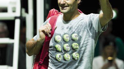 """Federer """"Hoop deze week weer nummer één te zijn"""""""