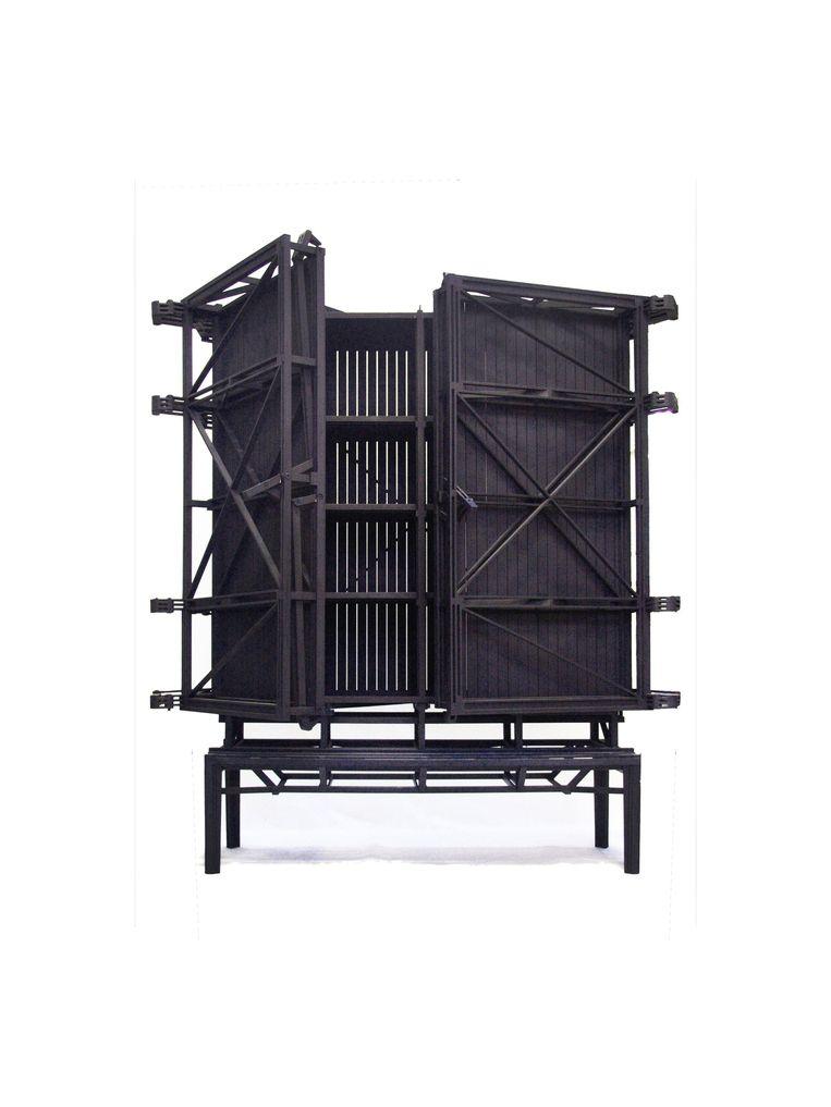 'Cnstr Cabinet' van Paul Heijnen, vanaf € 17.500. paulheijnen.com Beeld  Paul Heijnen