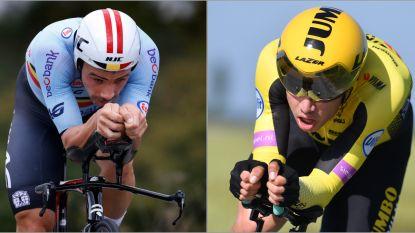 Wielerbond maakt deze week selectiecriteria bekend voor olympische tijdrit: Van Aert of Campenaerts?