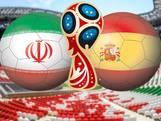 LIVE: Twee wissels bij Spanje, Iran zonder geblesseerde Jahanbakhsh