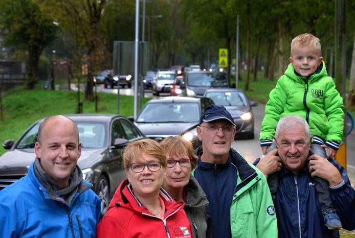 Bewoners van de Viaanse wijk Amaliastein hebben al vaker aan de bel getrokken over de enorme drukte langs hun buurt.