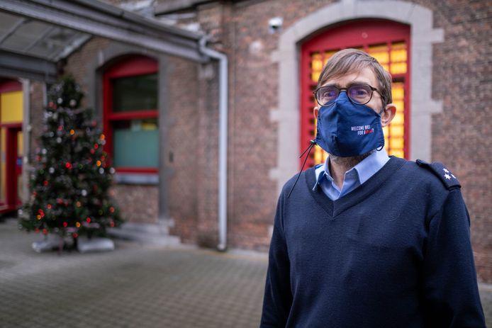 MECHELEN - Cipier Dirk Ver Elst in de gevangenis van Mechelen