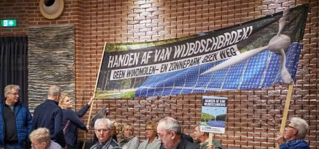 Windturbines in Wijboschbroek is ook voor politiek een stap te ver
