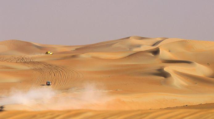 De Rub al Khali-woestijn.
