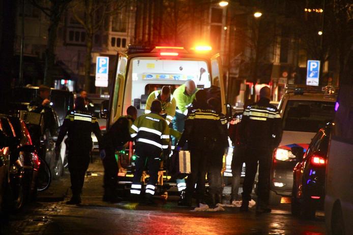 Steekpartij op de Weimarstraat in Den Haag