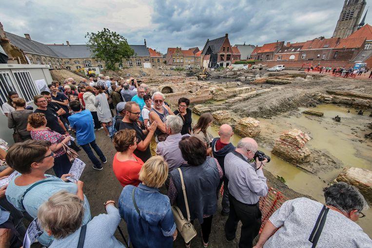 Op de archeologische site De Meersen in Ieper komt een woonproject.