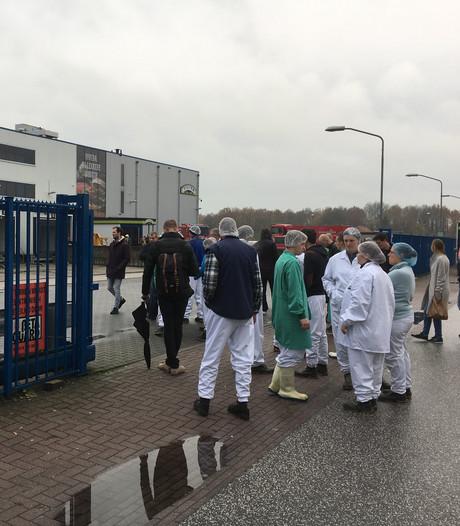 Geen productie na brand bij Vivera in Holten