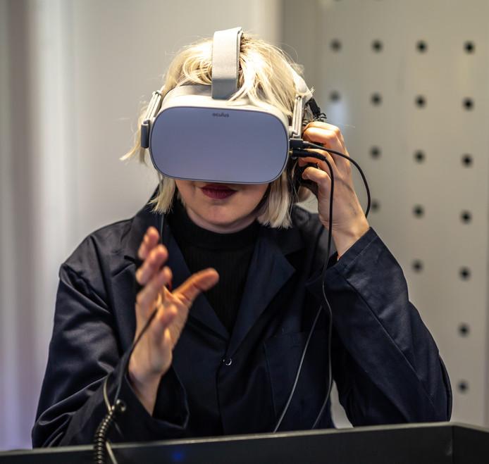 VR en augmented reality spelen een rol in de Angstfabriek