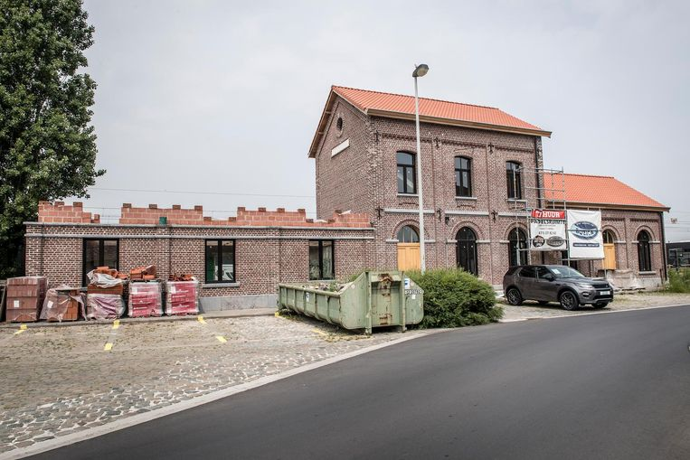 Het oude stationsgebouw krijgt een herbestemming.