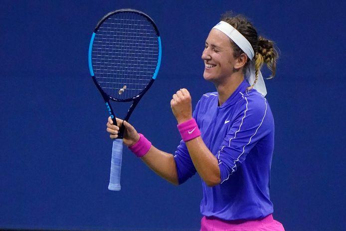 Victoria Azarenka n'a laissé aucune chance à Elise Mertens et affrontera Serena Williams en demi-finale.