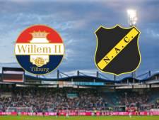LIVE | Kan Willem II zonder Sol aartsrivaal NAC verslaan?