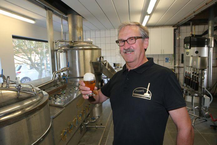 Rudy Scheys van de Brouwerij Vissenaken.