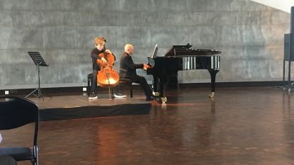 Zoon (12) van beiaardier Jan Verheyen haalt brons op cellowedstrijd
