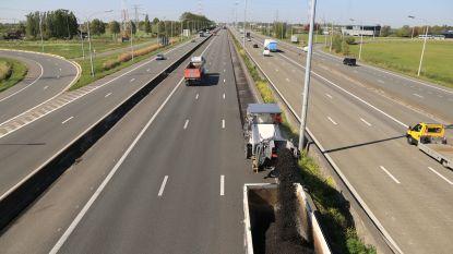 Onderhoudswerken op E17 vervroegd door coronacrisis, weinig verkeershinder