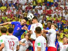 Polen uitgeschakeld na kansloze nederlaag tegen Colombia