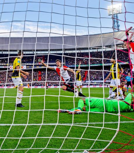 Feyenoord kan mee, als de bal maar stilligt