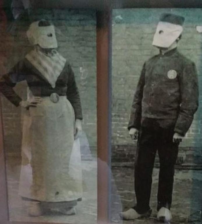 Met de celkap werd een gevangene volledig geanonimiseerd.