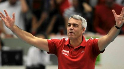Wereldcoach voor Red Dragons: Italiaan Andrea Anastasi (57) leidt België op WK volley