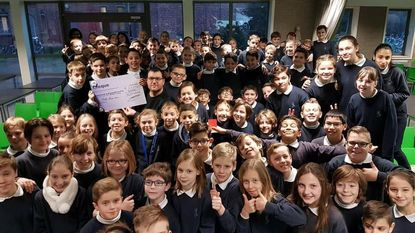 School Sint-Cordula schenkt 2.638 euro voor Rett Mia
