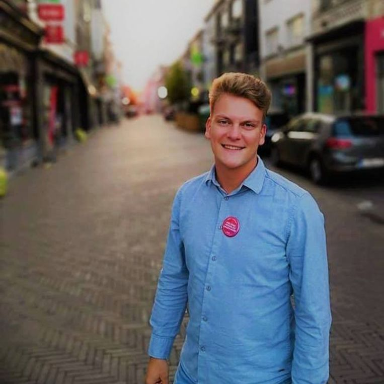 Louie Van Rijsselberge agendeerde de herbruikbare bekers op de gemeenteraad in Zottegem.
