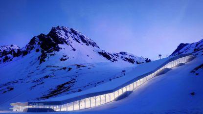 Overdekte skibaan op smeltende Alpengletsjer moet wintersportvakanties redden