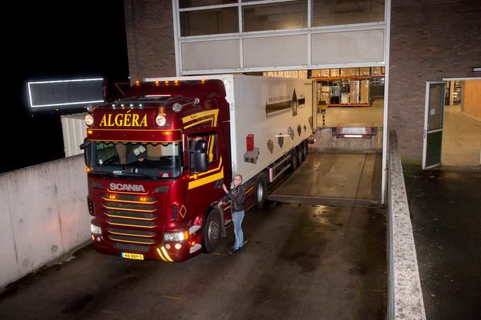 Algera transport in Wenum-Wiesel.