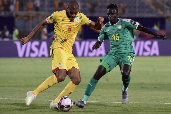 Krepin Diatta mocht invallen tegen Benin.