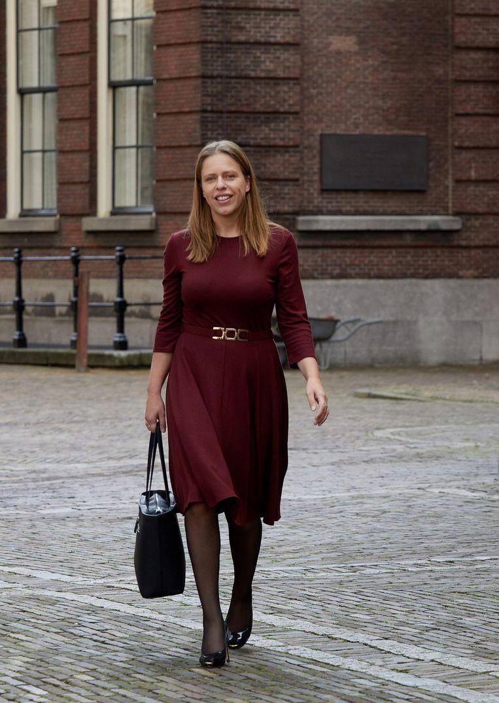 Helemaal wezensvreemd is Landbouw niet voor Carola Schouten. Beeld anp