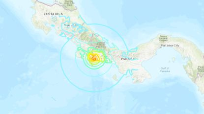 """Zware aardbeving voor kust van Panama en Costa Rica, maar schade """"beperkt"""""""