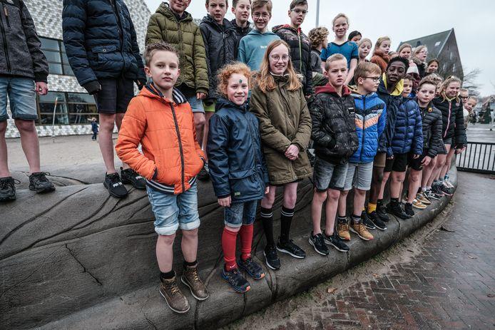 Een stoere actie op basisschool de Zonneboom.