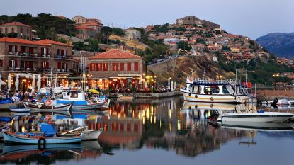 Nergens smaken de olijven, feta en ouzo beter dan op Lesbos