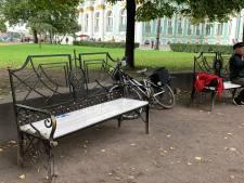 Rotaryclub Best-Oirschot sponsort bankje in Sint-Petersburg