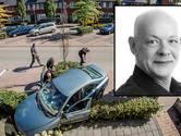 Liquidatie Zwolle: 'Stuurloze auto knalde door mijn heg'