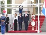 Koning ontvangt Mexicaanse president
