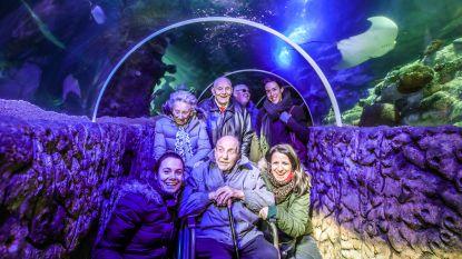 Wens van Gilbert (91) komt uit: met limo naar Sea Life