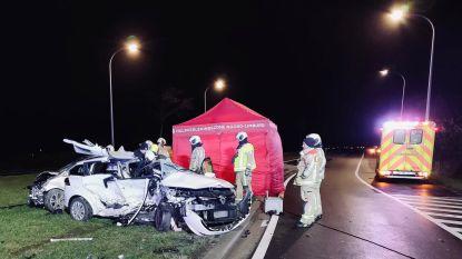 """""""Dit mag nooit meer gebeuren"""": kruispunt in Bree wordt extra beveiligd na dodelijk ongeval op kerstavond"""