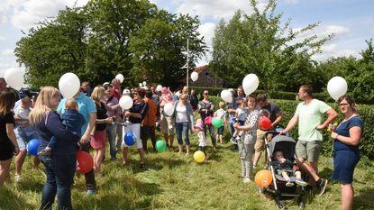 Kinderen krijgen geen ballonnen meer