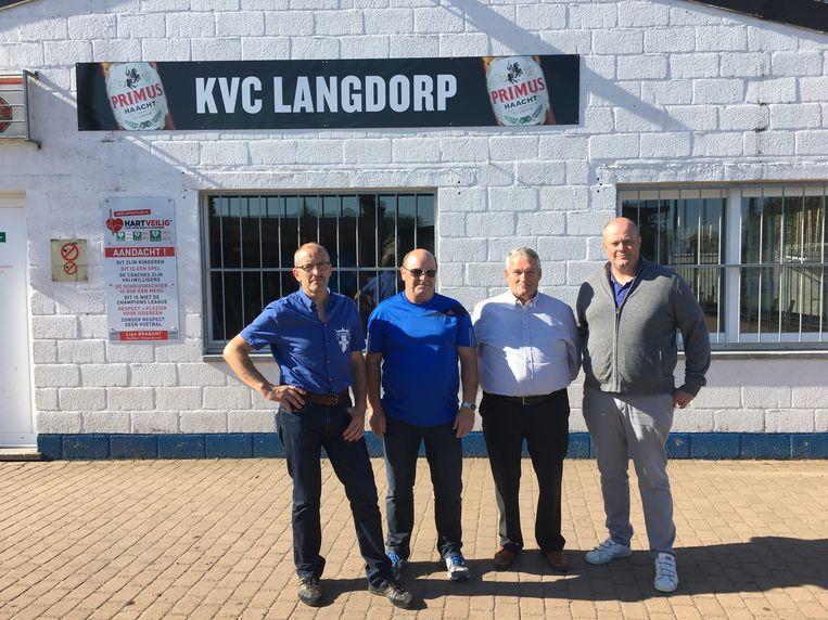 Marc Verbruggen, Pol Goossens, Jos Heens, Hans Heens