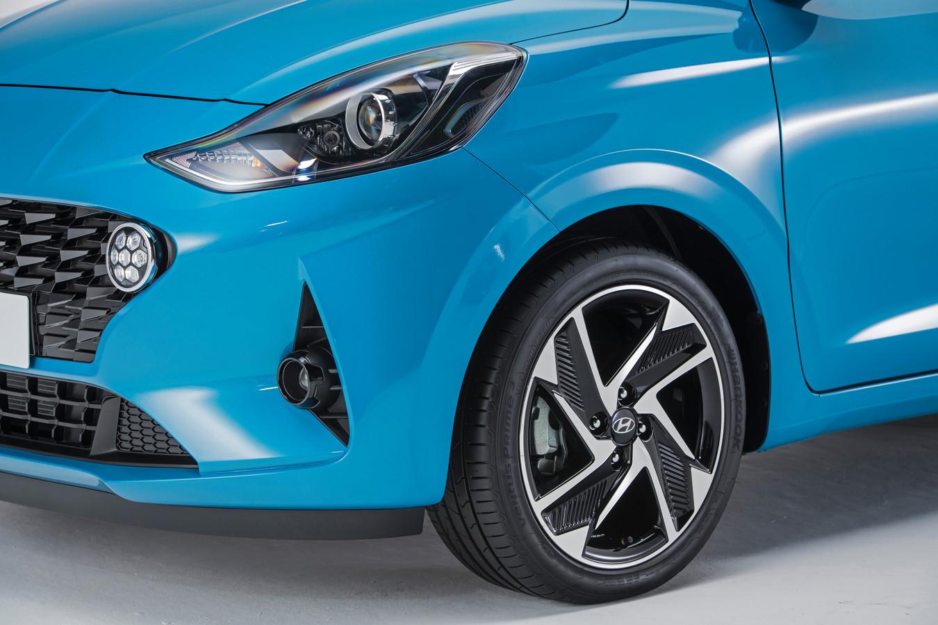 Ook nieuw: grotere wielen en ronde led-dagrijlampen