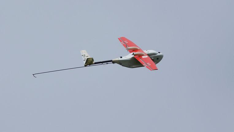 Een drone van Zipline, het bedrijf waarmee Rwanda in zee gaat.