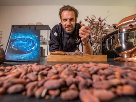Meesterpatissier Hidde is creatief met chocolade: Reep met salie 'aan schoonmoeder geven'