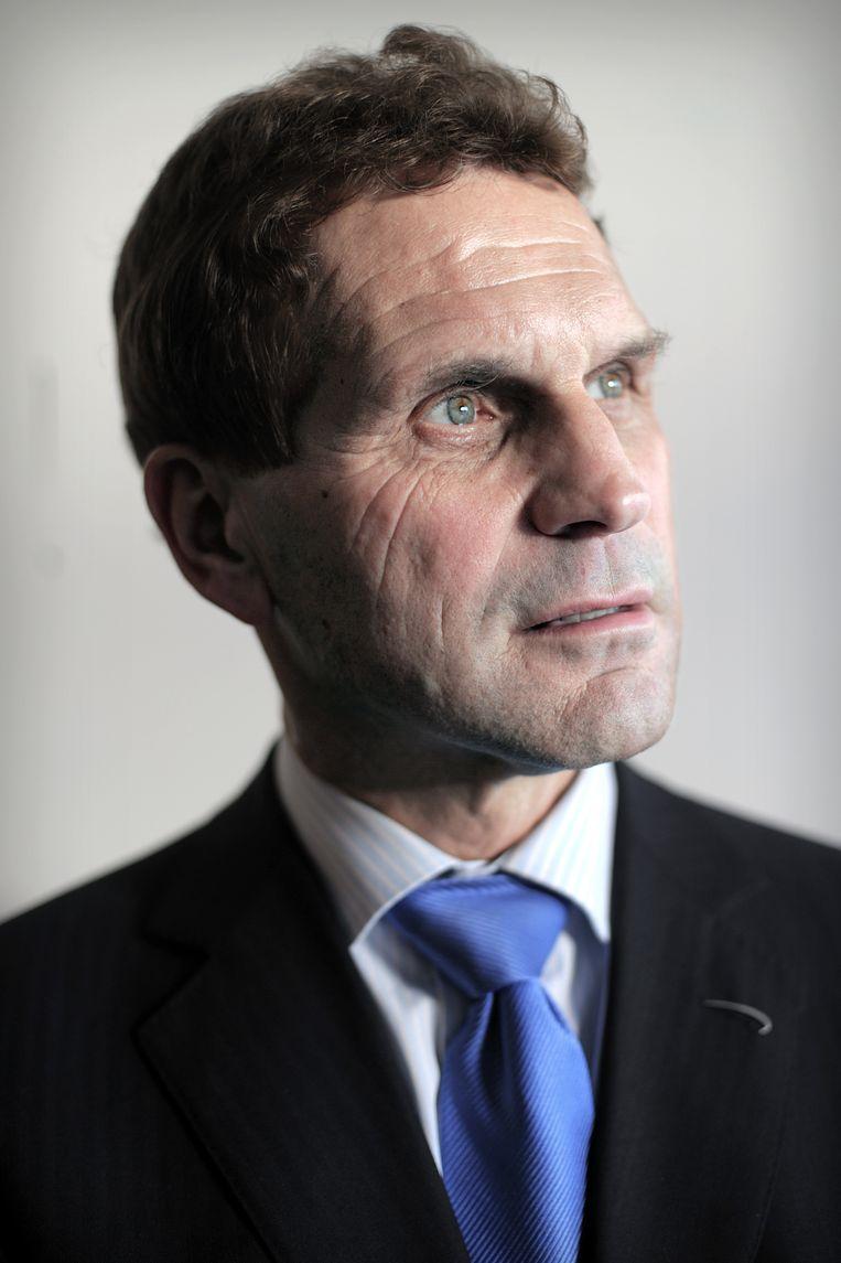 VU-hoogleraar Peter Nijkamp. Beeld Joost van den Broek  / de Volkskrant