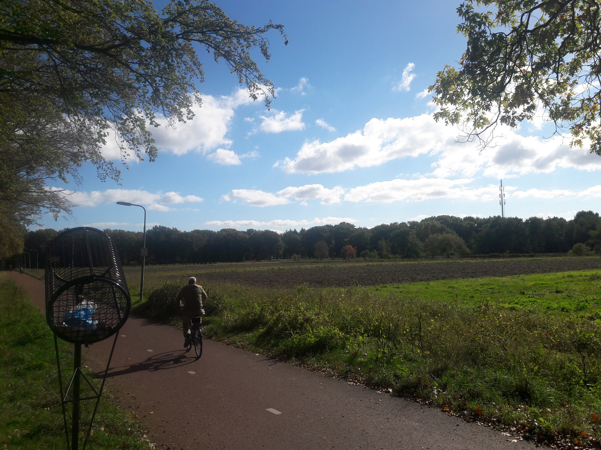 De lap grond bij de Reeshofdijk in Tilburg die inmiddels als 'stadsakker' bekend staat.