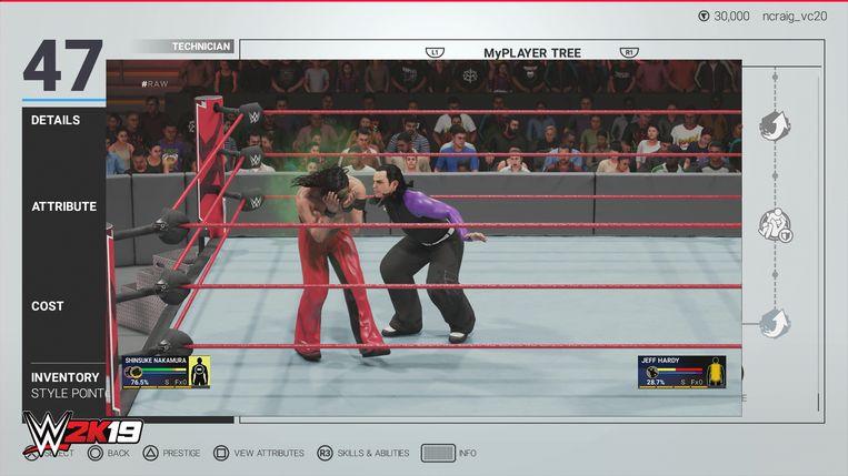 Ook het blazen van een giftige wolk behoort nu tot de mogelijkheden in 'WWE 2K19'.